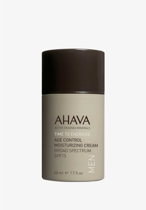 AHAVA MEN Age Control Moisturizing Cream SPF15 - 50ml