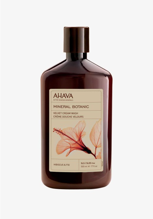 AHAVA Mineral Botanic Cream Wash Hibiscus & Fig 500ml