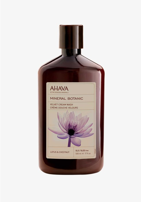 AHAVA Mineral Botanic Cream Wash Lotus & Chesnut 500ml