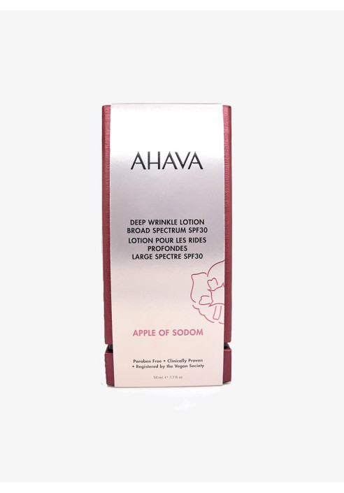 AHAVA Deadsea deep wrinkle lotion broad spectrum spf30 50ml