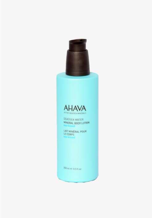 AHAVA Deadsea water mineral body lotion sea kissed 250ml bottle