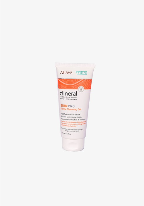 Clinical by AHAVA TEVA Skin pro gentle cleansing gel 100ml box
