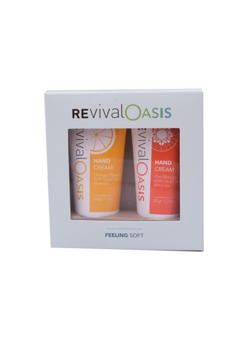 REVIVAL Deadsea Feeling soft - hand cream set