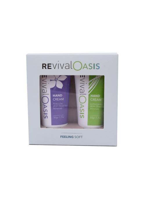 REVIVAL Deadsea Feeling soft - hand cream set purple-green