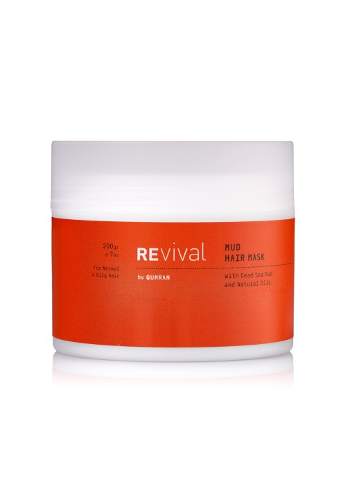 REVIVAL Mud Hair Mask For Normal and Oily Hair 200gr