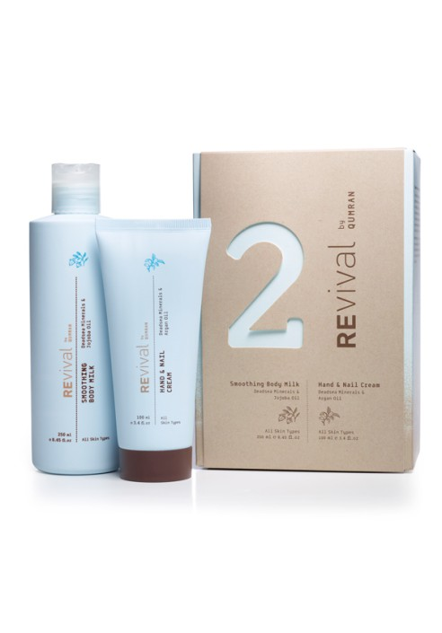 REVIVAL two pack hand cream & Body milk kit
