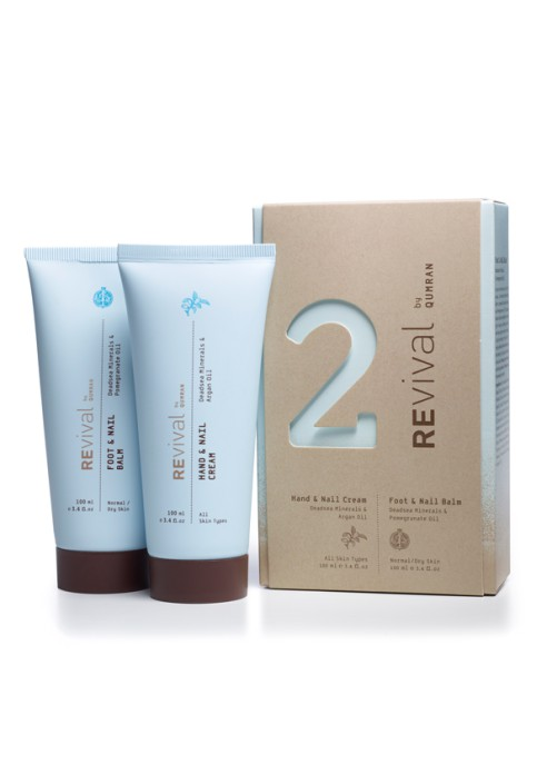 REVIVAL two pack hand and foot cream kit