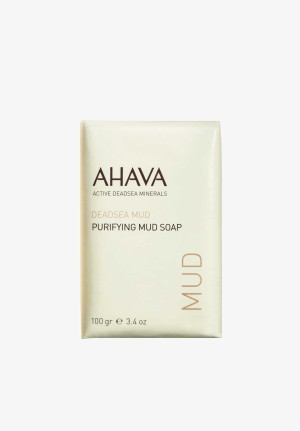 AHAVA Purifying Mud Soap 100gr | Dead Sea Mud Soap