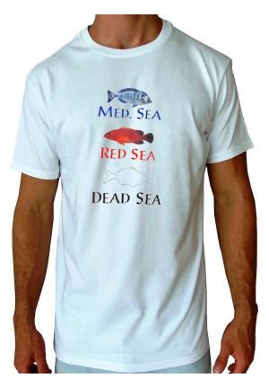 T-shirt Med-red-dead